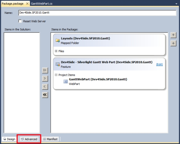 Come aggiungere assembly esterni alla soluzione WSP per SharePoint 2010 creata da Visual Studio 2010