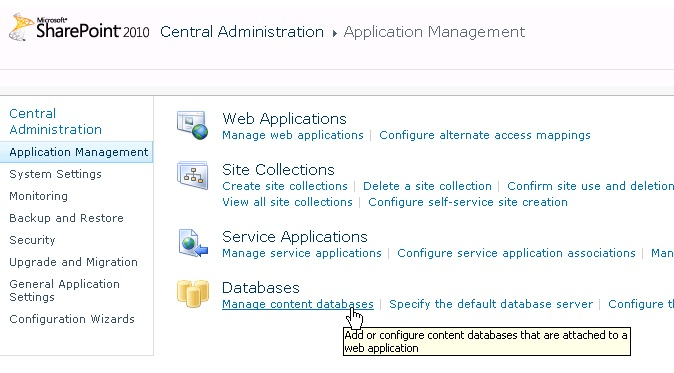 Errore This site is not assigned to an index in SharePoint Foundation 2010