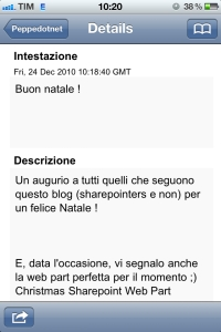 Peppedotnet.it su IPhone