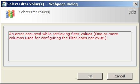 SharePoint List Filter error