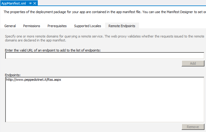Come chiamare un endpoint remoto da un App SharePoint 2013