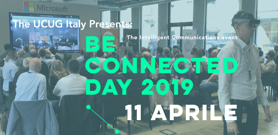BE Connected Day 2019 - Milano 11 Aprile