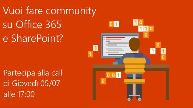 CALL #01 - Community su Office 365 e SharePoint