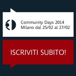 Comunity Days 2014
