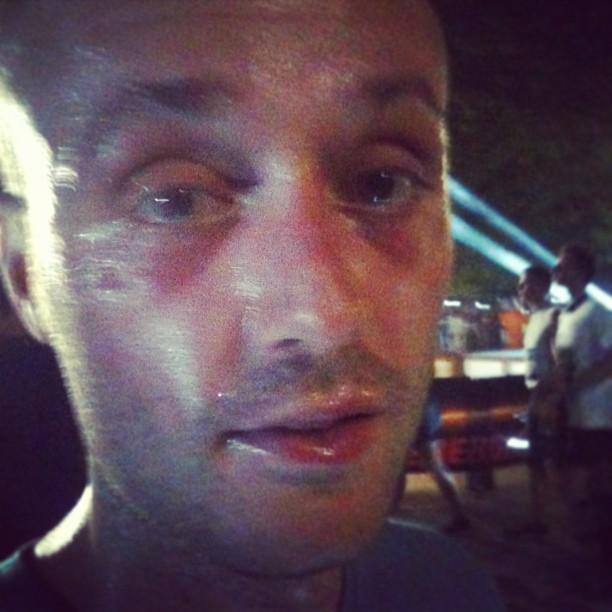 Ieri ho corso alla 'night run' per unicef a Milano... no comment!