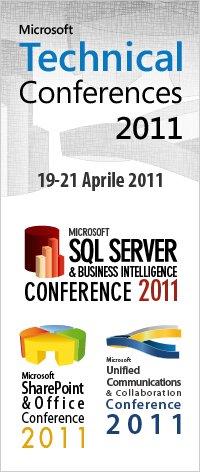 Microsoft Technical Conferences 2011
