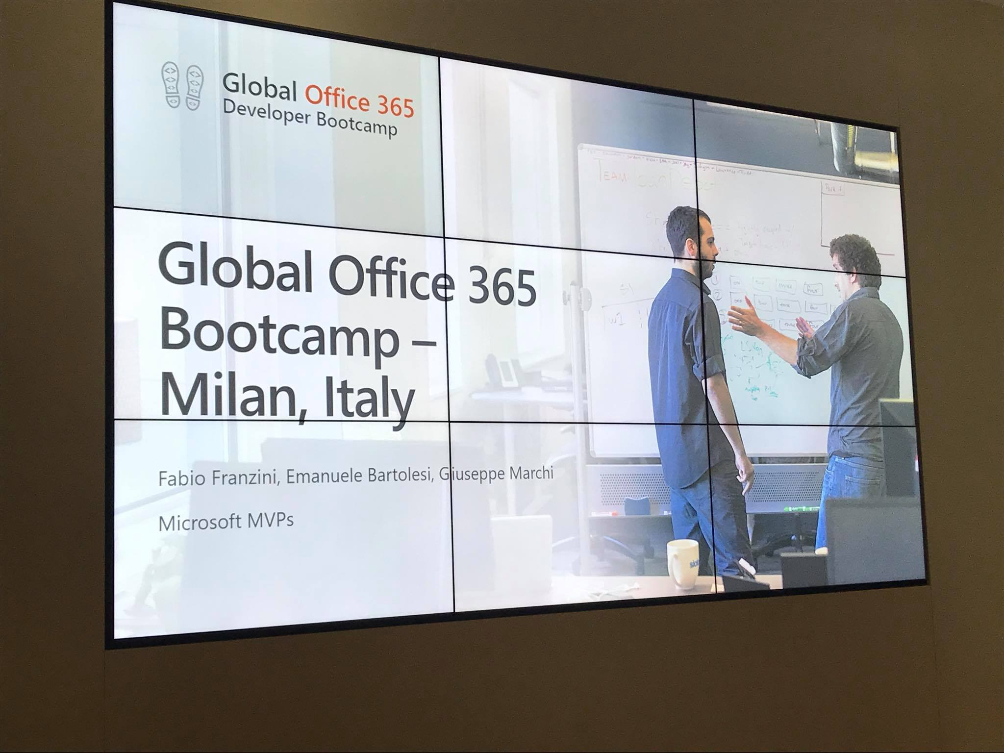 Office 365 Developer Bootcamp a Milano