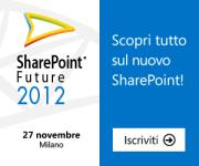 SharePoint Future 2012: 27 novembre 2012