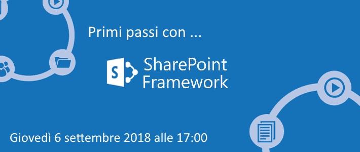 CALL #03 - Primi passi con lo SharePoint Framework