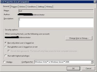 Windows Server 2008 Task Scheduler